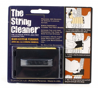 Czyścik do strun BASS TONEGEAR Stringcleaner