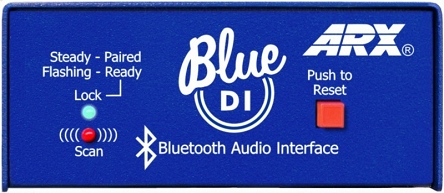 ARX Blue DI - Interfejs audio Bluetooth-XLR